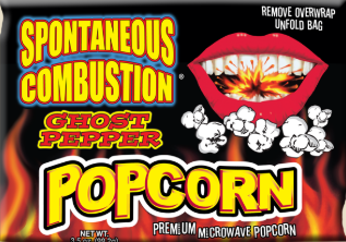 Ass Kickin - Spontaneous Combustion Ghost Pepper Popcorn