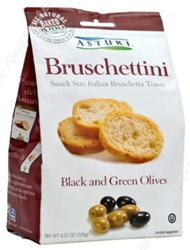 Asturi Black and Green Olive Bruschettini