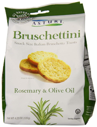 Asturi Rosemary and Olive Oil Bruschettini