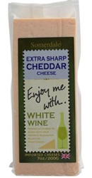 Enjoy Me With White Wine Extra Sharp Cheddar
