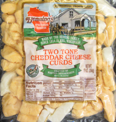 Hennings Two Tone Cheddar Cheese Curds