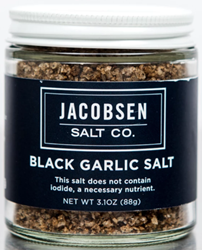 Jacobsen Black Garlic Salt