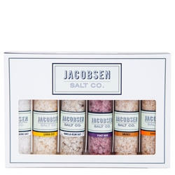 Jacobsen Salt Co. - Six Vial Infused Salt Set