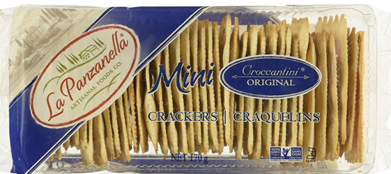 La Panzanella Mini Croccantini Orignal Crackers 6 ounce