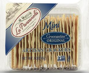 La Panzanella Mini Croccantini Orignal Crackers 3 ounce