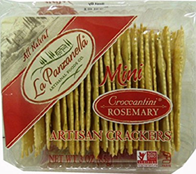 La Panzanella Mini Croccantini Rosemary Crackers 3 ounce