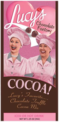 McStevens I Love Lucy Chocolate Factory Chocolate Truffle Cocoa