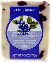 Somerdale Wensleydale and Blueberries