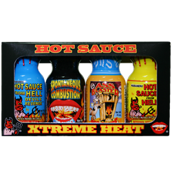 Southwest Specialties - Mini 4 Pack Xtreme Hot Sauce
