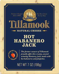 Tillamook Hot Habanero Jack Cheese