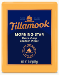 Tillamook Morning Star Extra Sharp Cheddar