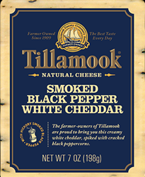 Tillamook Smoked Black Pepper White Cheddar