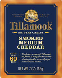 Tillamook Smoked Medium Cheddar