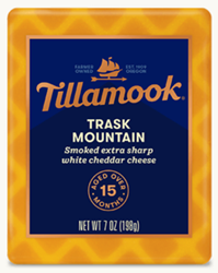 Tillamook Trask Mountain Smoked Extra Sharp White Cheddar