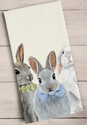 Bunny Bunch Towel