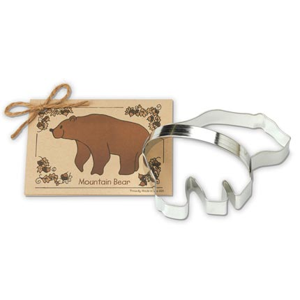 Mountain Bear Cookie Cutter