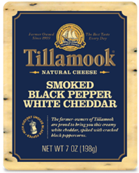 Smoked Black Pepper White Cheddar