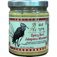 Blue Heron - Spicy Red Jalapeno Mustard