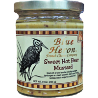 Blue Heron - Sweet Hot Beer Mustard