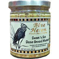 Blue Heron - Sweet n Hot Stone Ground Mustard