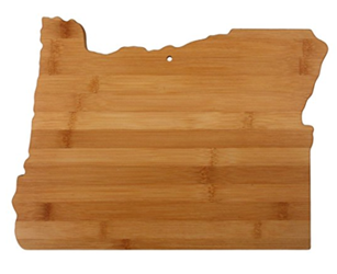 Totally Bamboo Oregon Cutting & Serving Board