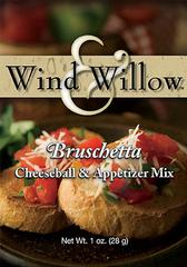 Wind & Willow Bruschetta Cheeseball & Appetizer Mix