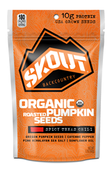 Skout Organic Spicy Texas Chili Roasted Pumpkin Seeds