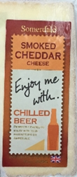 Enjoy Me With Chilled Beer Smoked Cheddar